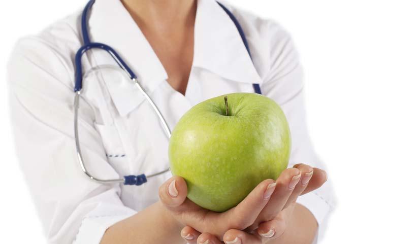 Alimentation pour des dents en santé